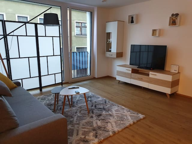 modern, cozy flat in the center of Linz!