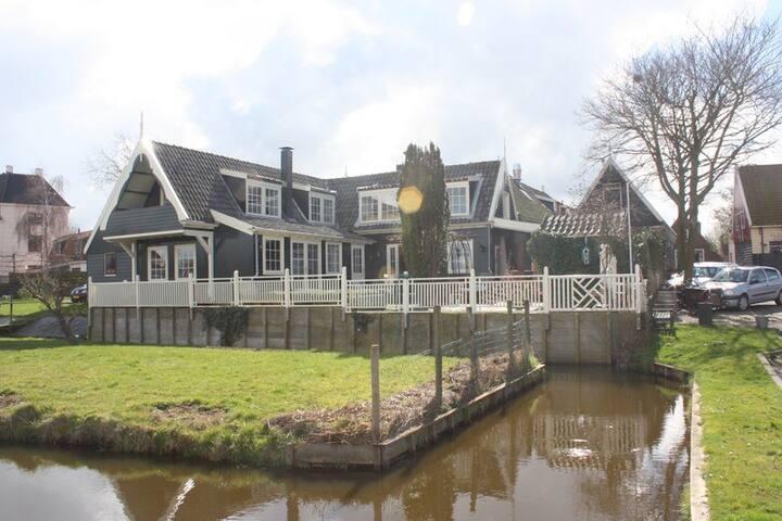 Familiehuis + tuin en vrij uitzicht - De Rijp - Hus