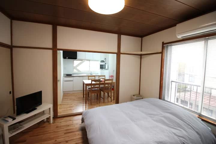 Cozy Condominium  nearby Station. Room 301.