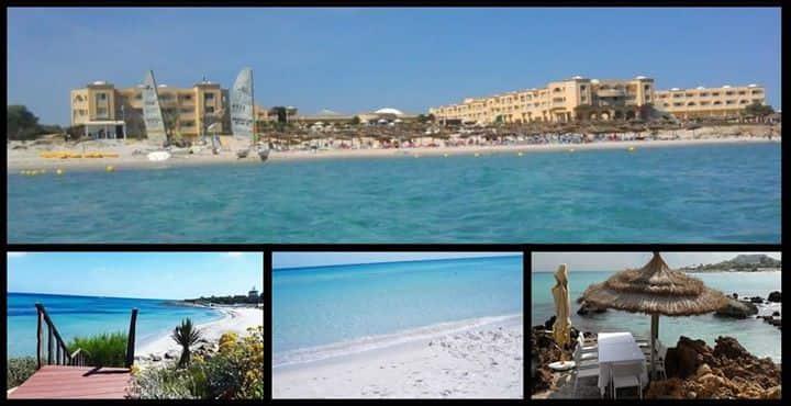 S+1 vue sur mer en face hotel Kelibia Beach
