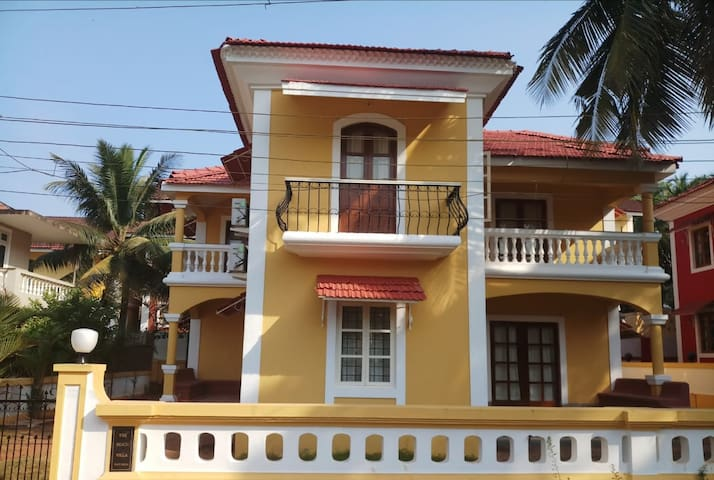 5 BHK Goan Beach Villa, 400 meters from the beach