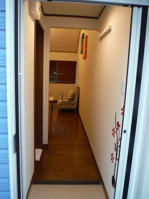 private entrance to your apartment