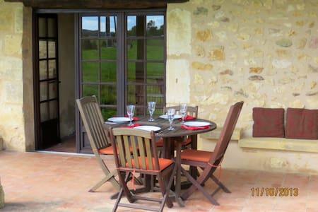 Beautiful Stone Gite in Dordogne  - Lanquais - House