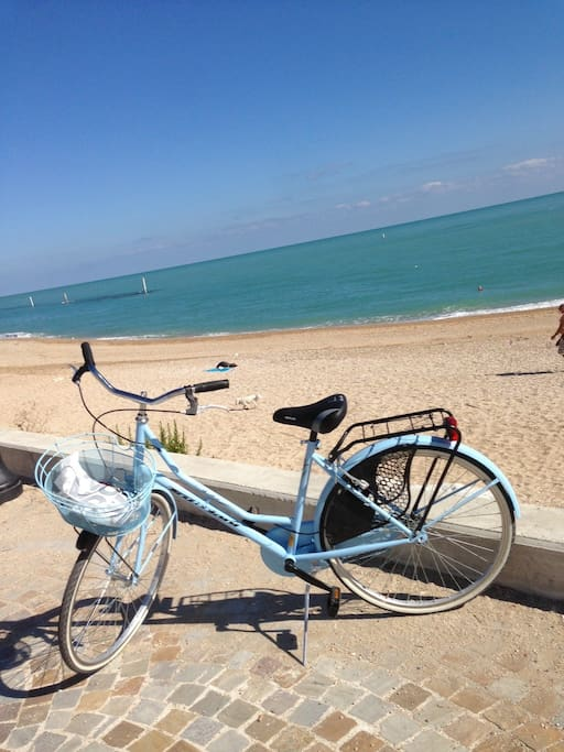 Bikes available for free to our guests