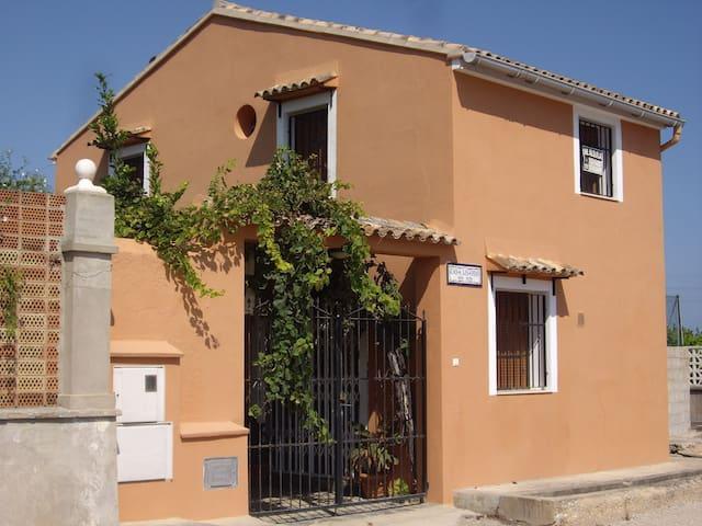 Típica Casa Barraca Valenciana En Playa del Dosel. - Mareny de San Lorenzo - Huis