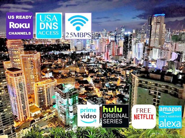 City Skyline Smart Suite @35F | Free Netflix, Hulu