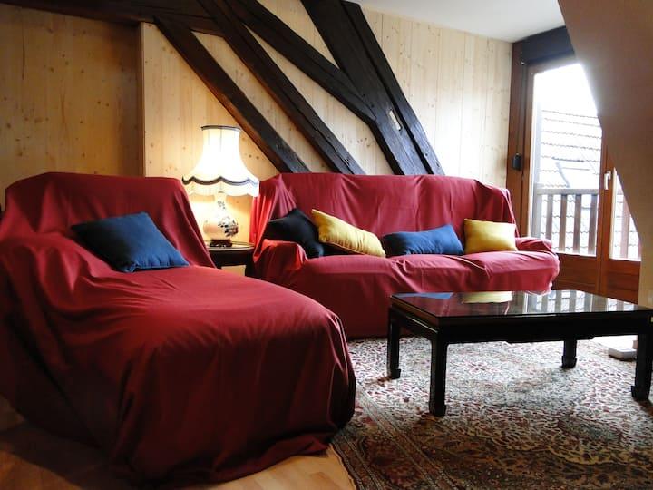 **Beau Loft au coeur de l'Alsace,BARR  ** 阿尔萨斯房子**