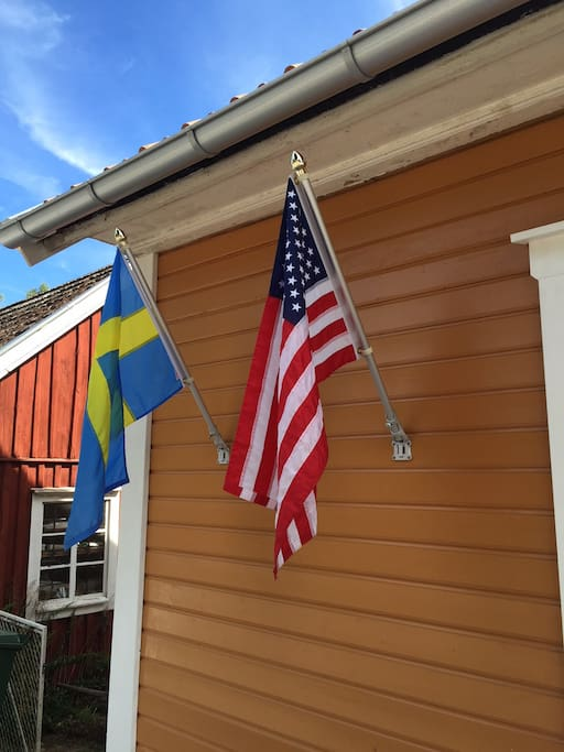 Solbacka shared by Americans and Swedes