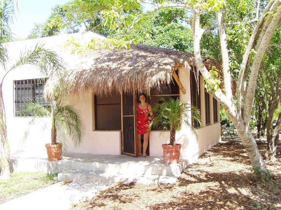 Casa Crema porch