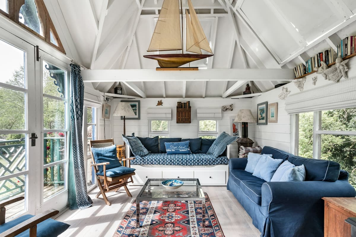 Fingals Folly— Reimagined Manor Farm Mill House in Dittisham