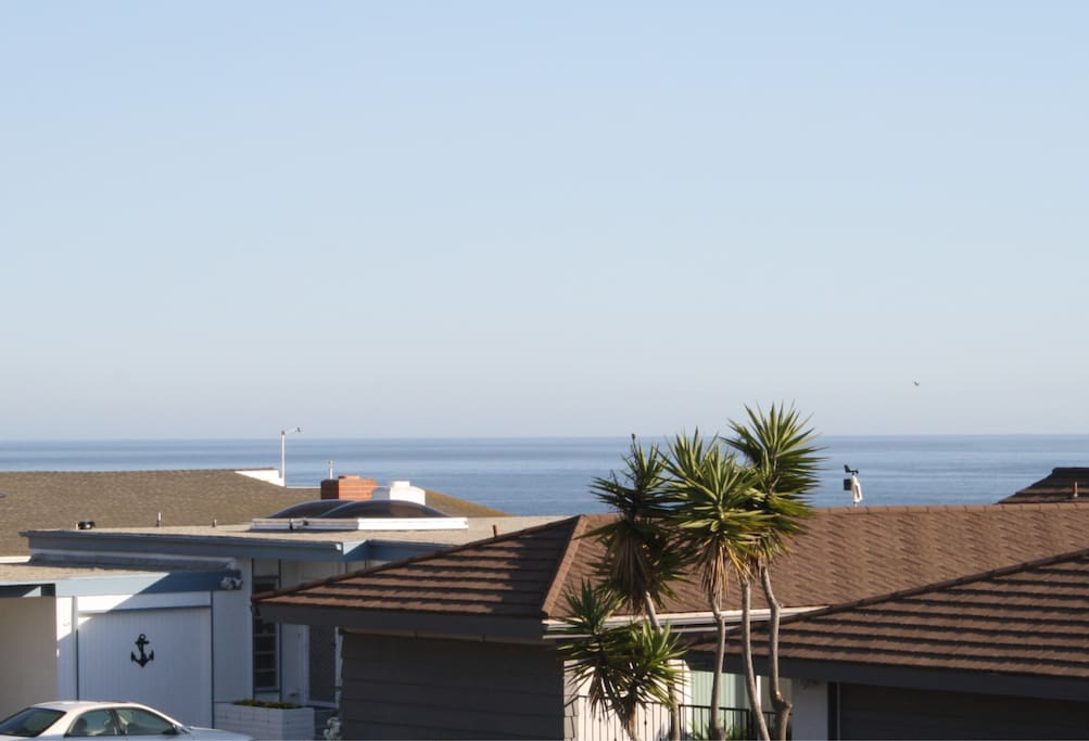Ocean view from the front patio