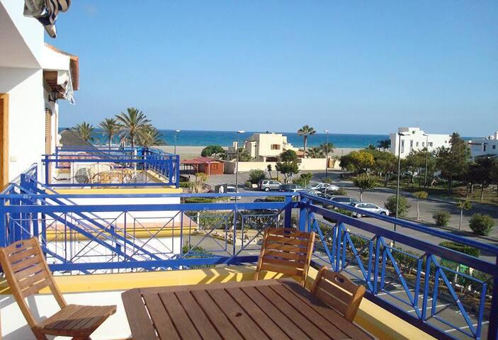 1ªlinea de playa vistas al mar vera - Vera - Appartement