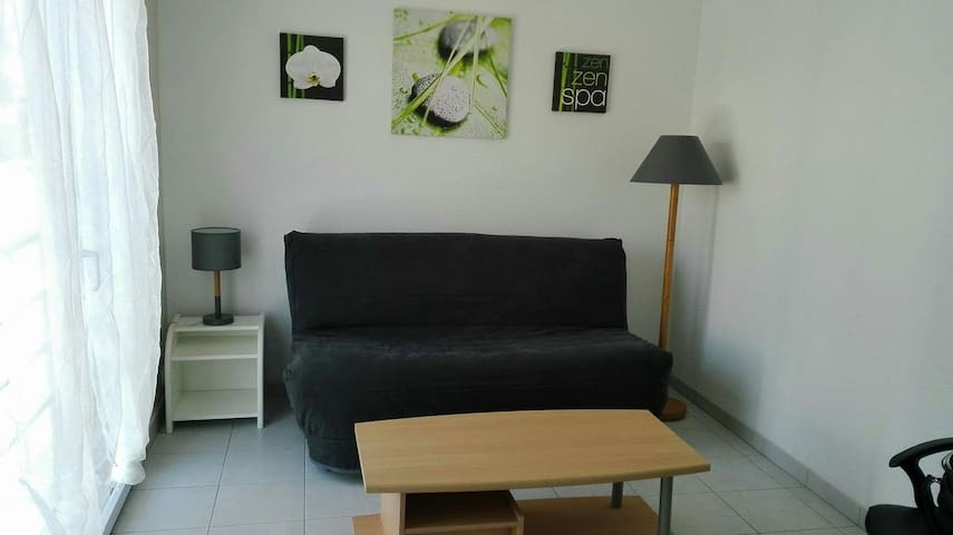 Studio for two people with secure parking - Saint-Brieuc - Appartement