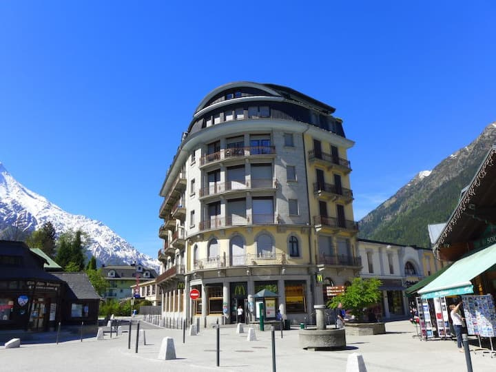 Chamonix Mont-Blanc : studio centre-ville