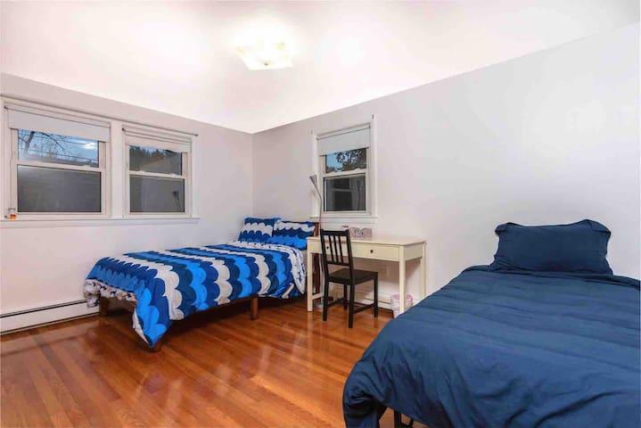 Renovate Private Room near Boston Bentley 2nd Fl