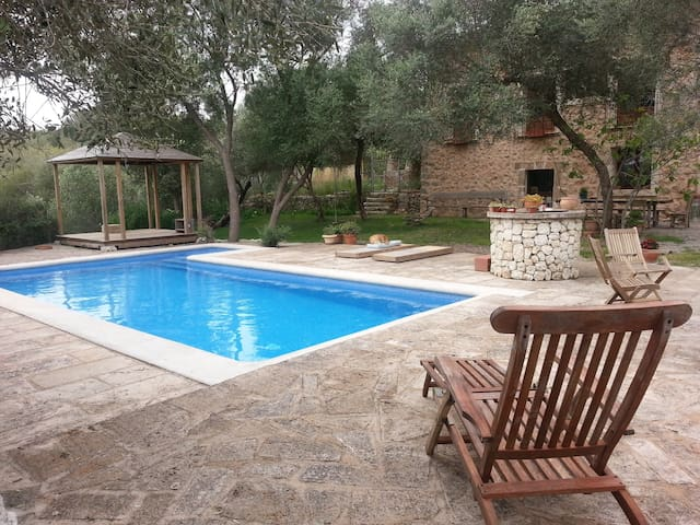 Pina country house with pool - Balearic Islands - Hus