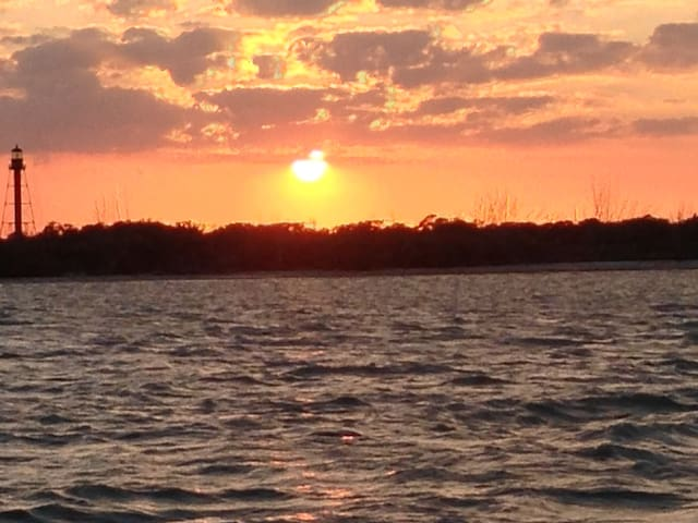 You can't beat a Gulf of Mexico sunset!