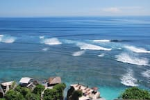 Visit around: Amazing view and great surf spot Blue point. Twice in a week party are here with live bands and Djs