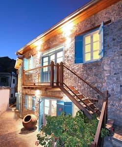 Kalopanagiotis Stone Cottage,WiFi, Fire place - Kalopanayiotis - Casa
