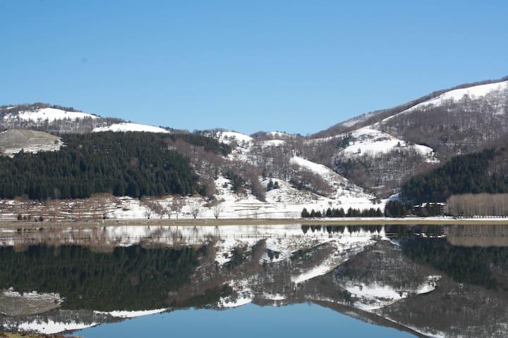 appartamento con vista sul Lago laceno - Laceno - Daire
