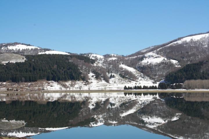appartamento con vista sul Lago laceno