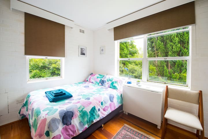 Exclusive use of a compact first floor garden flat