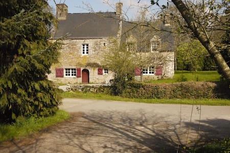 Maison de caractère, campagne Morbihan - Plumelec - Huis