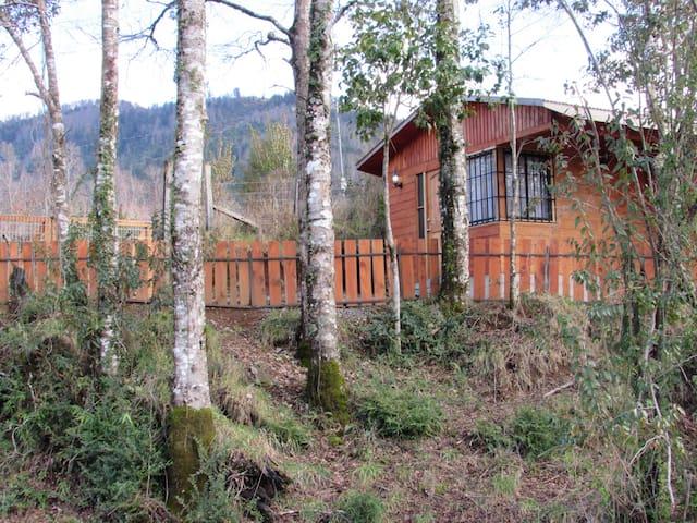 Cabaña para dos personas lican ray.