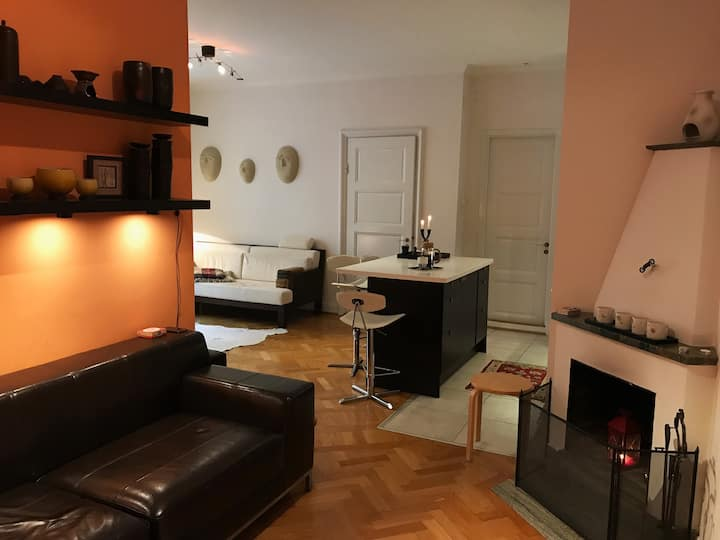 Beautiful apartment in the heart of Stockholm