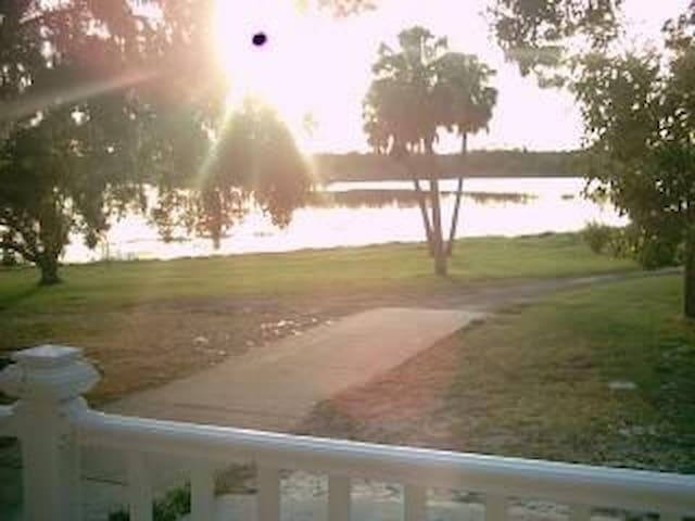 Quiet Lakefront Spacious Home