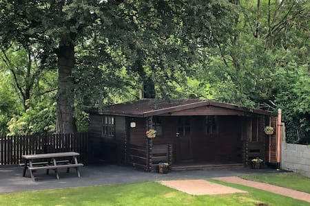 Self catering log cabin 5 mins from Kilkenny City