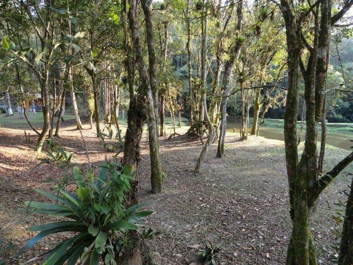 AREA DE CAMPING EM PARAÍSO NATURAL - ECOTURISMO