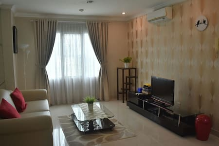 Clean 2bedroom&cozy view apartment - central jakarta