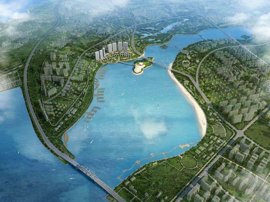环岛路纯海景千万豪宅四房五床·海景浴缸·沙滩木栈道·交通便捷
