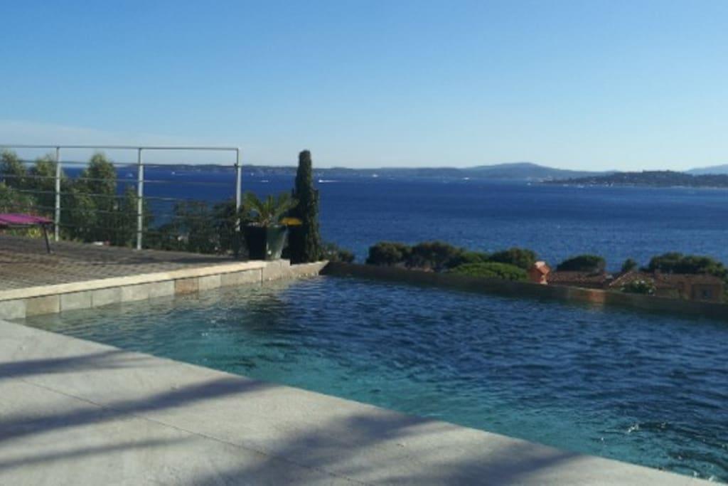Magnifique Vue Mer Cote D Azur Golf Saint Tropez Villas