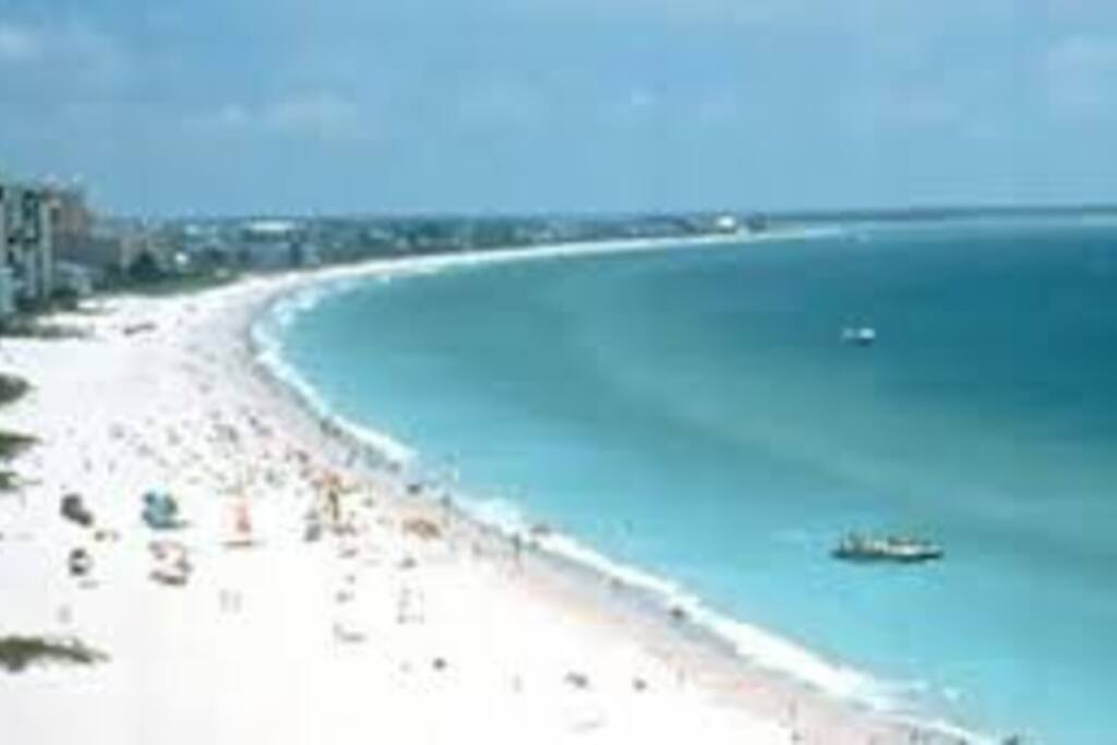 Miles of gulf coast beaches sorounding you.