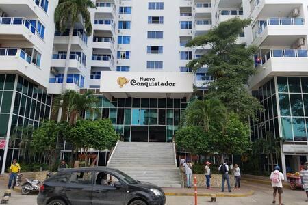 El Nuevo Conquistador Apt 612 - Cartagena - Apartemen