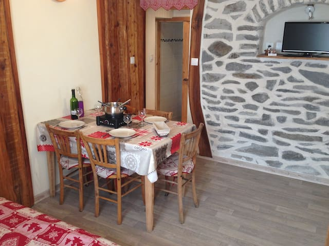 Nice 4/6 pers apartment in Orelle