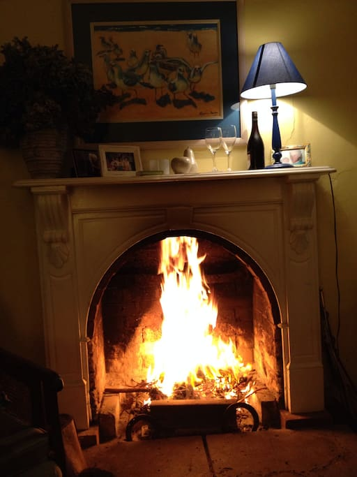 Open fire for any chilly nights