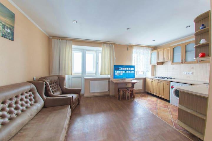 Уютная современная квартира-студия