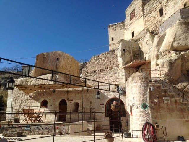 Capadocia Evrim Cave House-white - Ayvalı - Gua