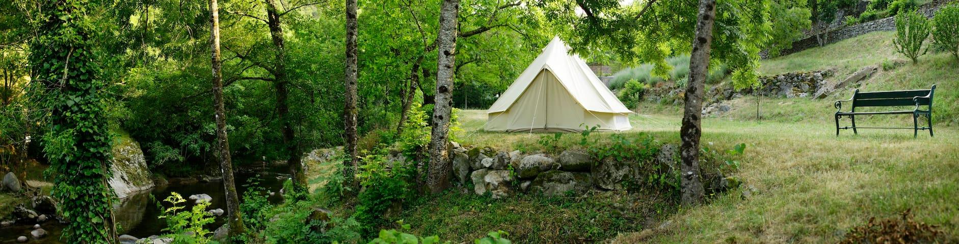 Le Moulinage Chez Soie 'Mini-camping' - Saint-Étienne-de-Serre - Tent