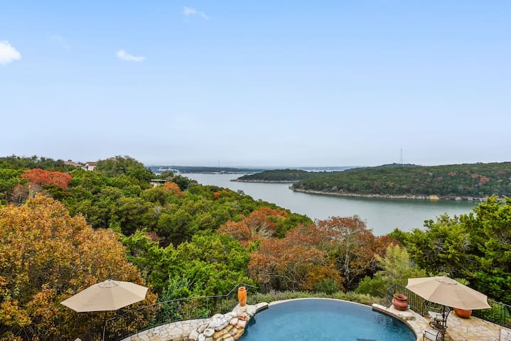 Lake Travis Luxury Home with Pool & Boat Dock!! - Jonestown