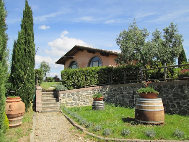 Farm house near Florence and Pisa