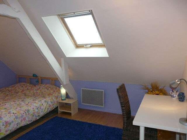 Chambre Lavande - Villy-Bocage - Pension
