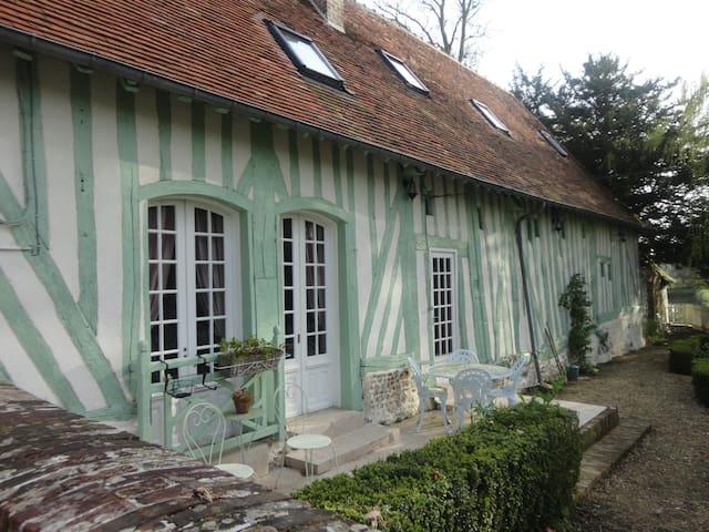cottage au Domaine de Montaudin - Le Mesnil-Bacley - บ้าน