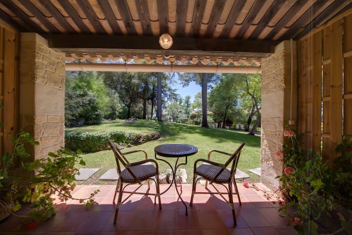 Provencal Villa Ave panoramic view - Villefranche-sur-Mer - Apto. en complejo residencial