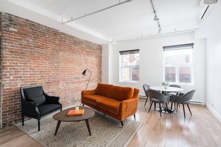 1 bedroom Loft in Old Montreal