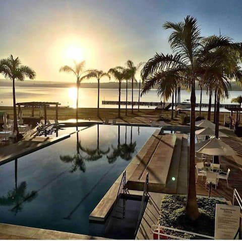 Flat Resort Brisas do lago