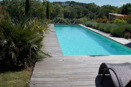 Villa vec piscine prox. Uzès - Arpaillargues-et-Aureillac - Ev
